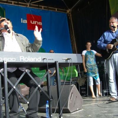 Beau Vélo de Ravel Couvin 7.7.2007 Avec Gilbert Montagné